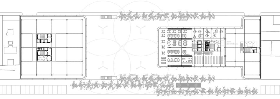 3A.Entreplanta y planta tipo oficinas